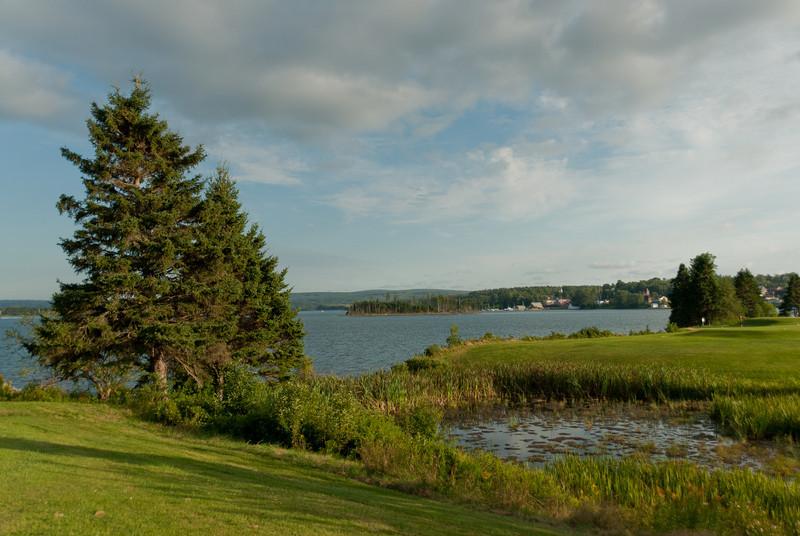 View of the Guysborough Harbour in Guysborough, Nova Scotia