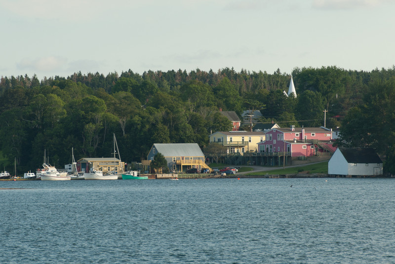 Guysborough Harbour in Guysborough, Nova Scotia