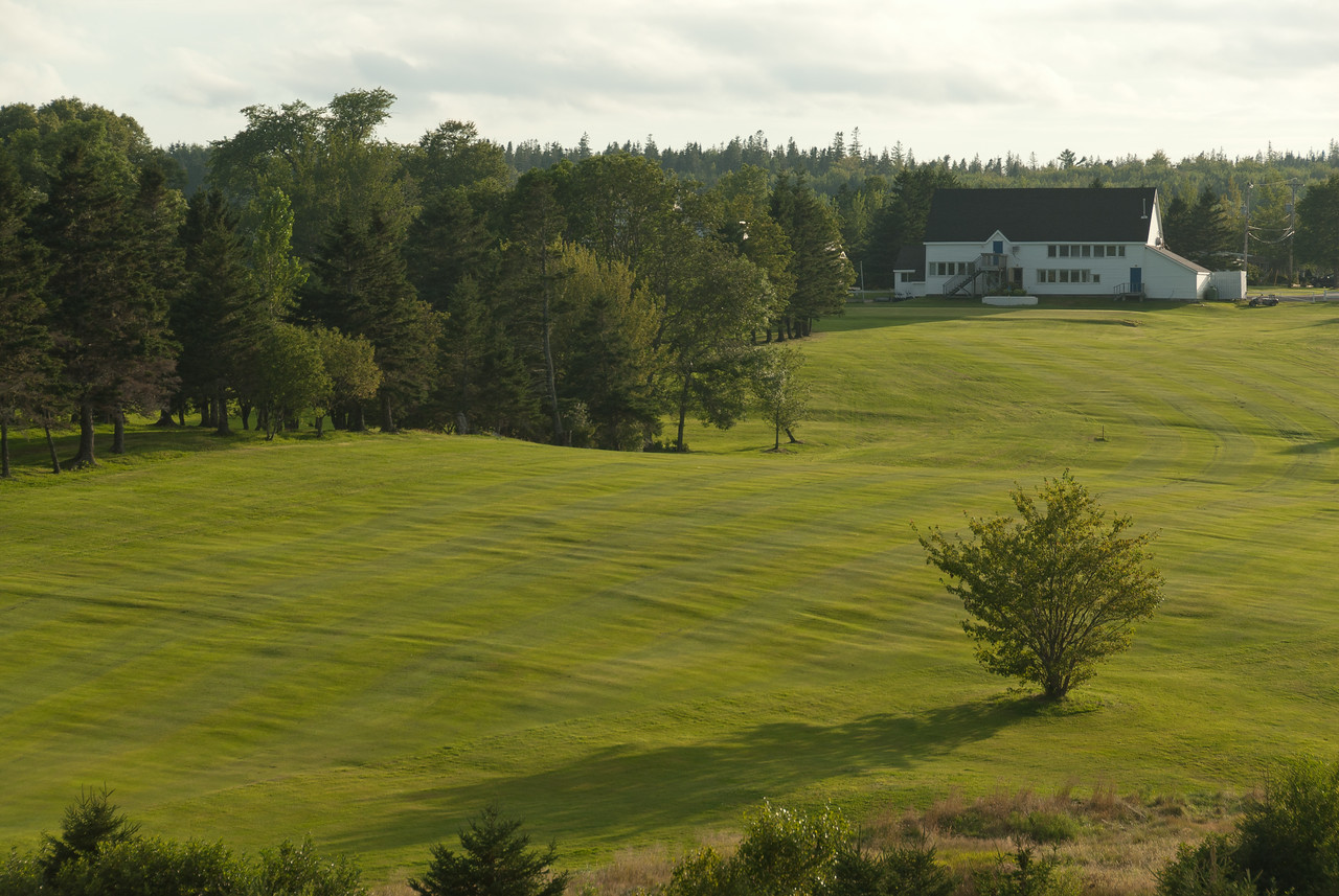 Lush landscape in Guysborough, Nova Scotia