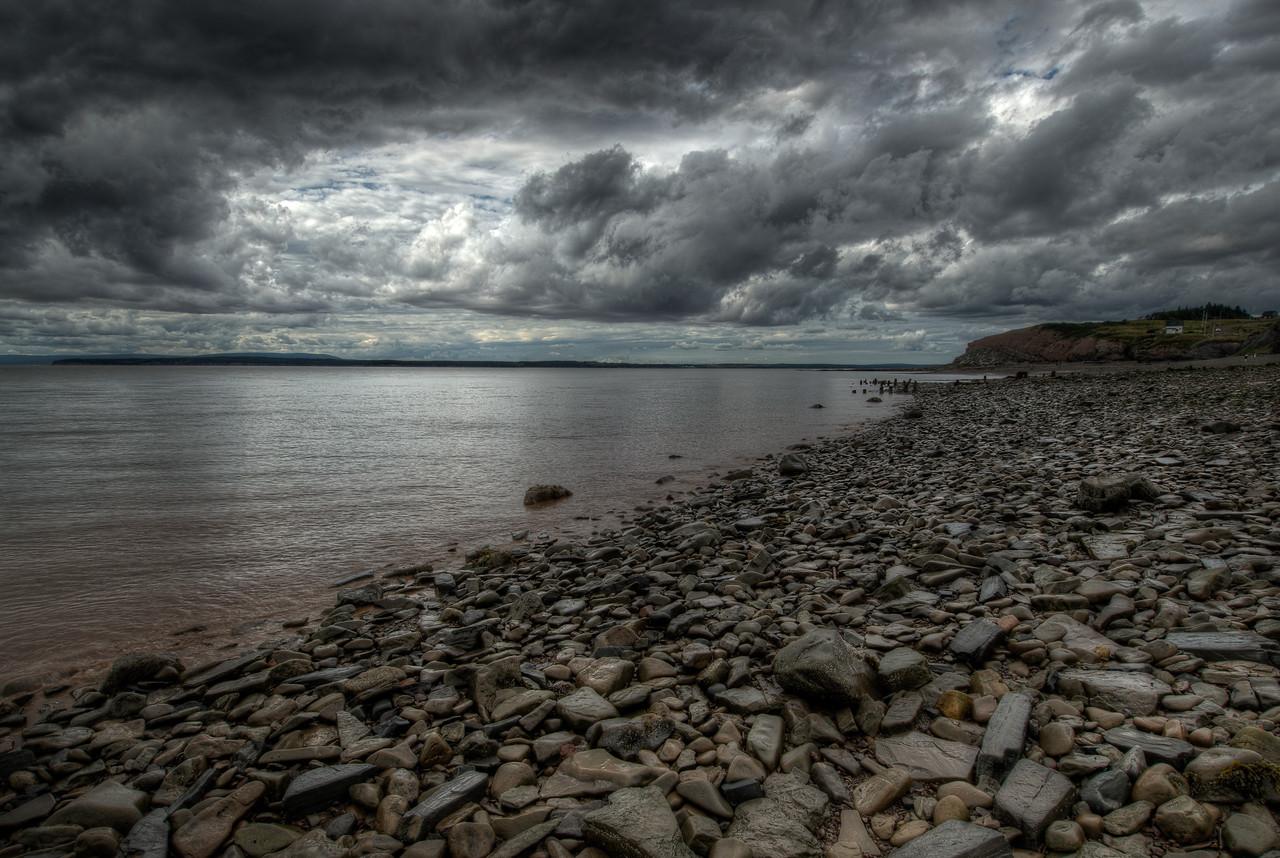 Shore of the Bay of Fundy - Joggins, Nova Scotia