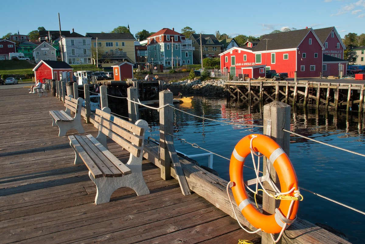 The Old Town of Lunenburg, Nova Scotia