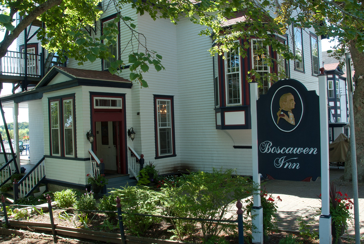 Boscawen Inn in Lunenburg, Nova Scotia