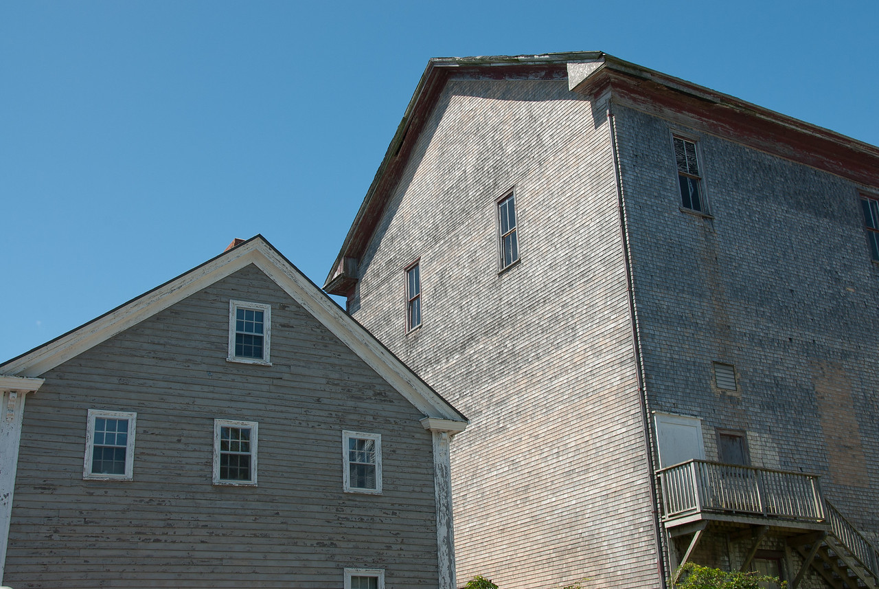 Traditional building in Lunenburg, Nova Scotia
