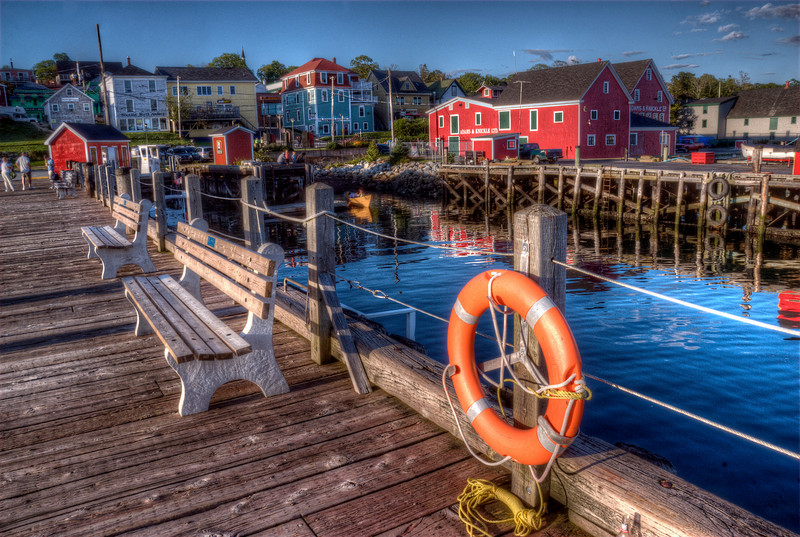 Dock and waterfront - Lunenburg, Nova Scotia