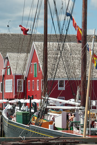 Fisheries Museum of the Atlantic in Lunenburg, Nova Scotia