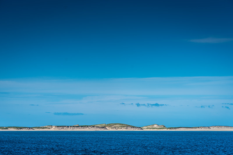 Sable Island as seen from the sea
