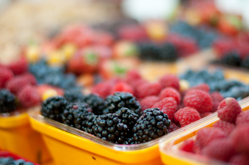 Fresh berries in Ottawa, Ontario, Canada