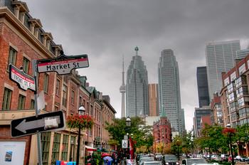 Toronto from Market Street