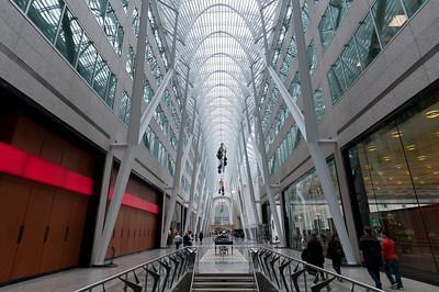 Allen Lambert Galleria in Brookfield Place in Toronto, Canada