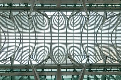 Allen Lambert Galleria, designed by Santiago Calatrava in Brookfield Place, Toronto, Canada