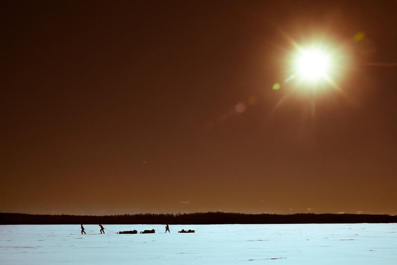 Sunrays Lead the way on the Missinaibi