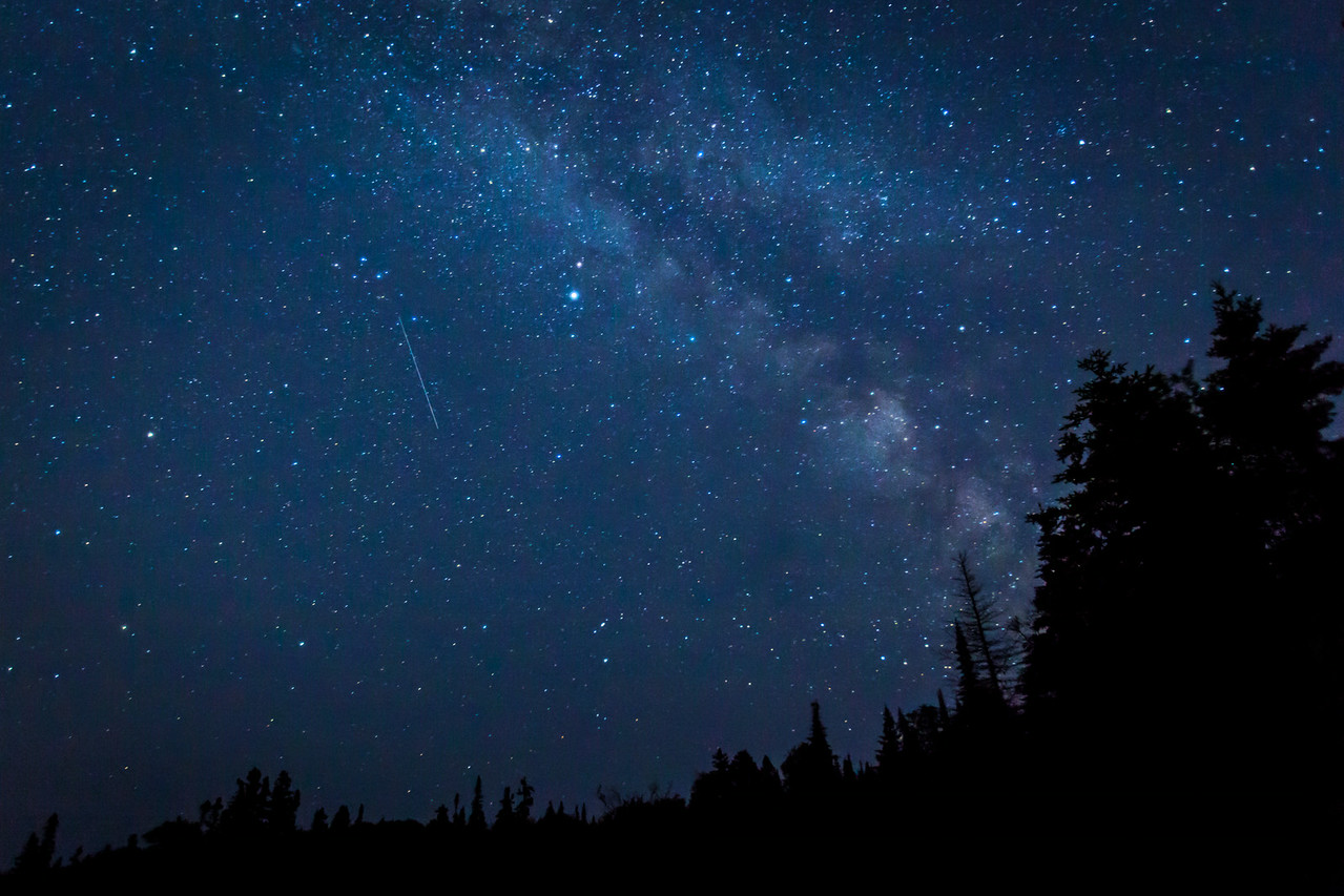 The Milky Way over Northern Ontario