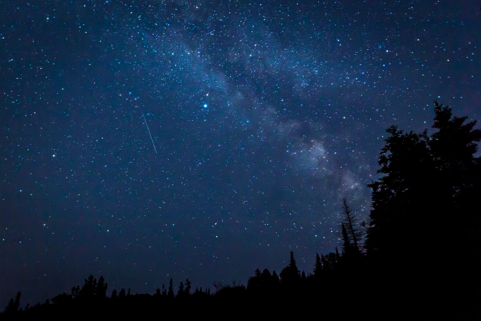 The Milky Way from the Slate Islands on Lake Superior