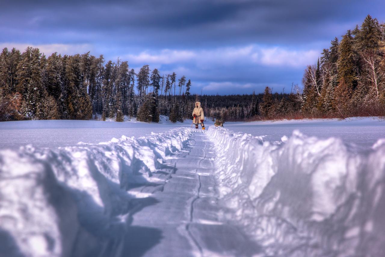 Missinaibi-Fresh Snow Trail