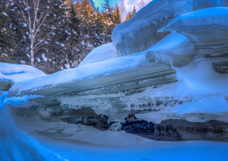 Frozen Rapids Missinaibi Expedition