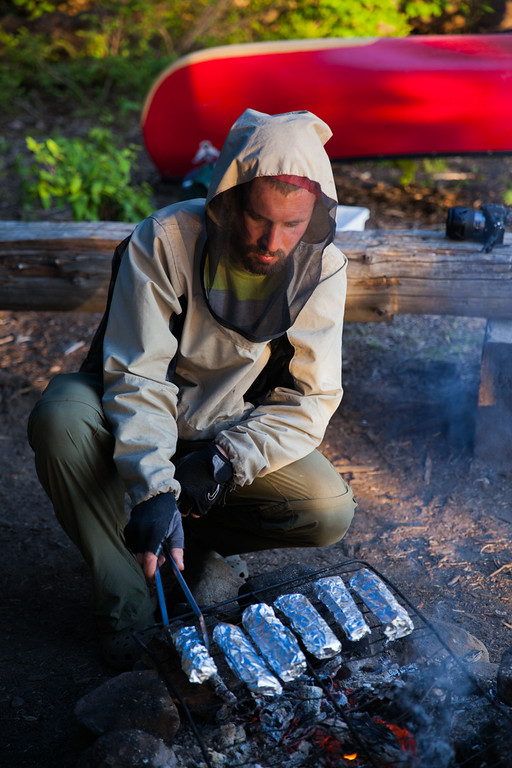A true camping experience in Algonquin Park, Ontario.