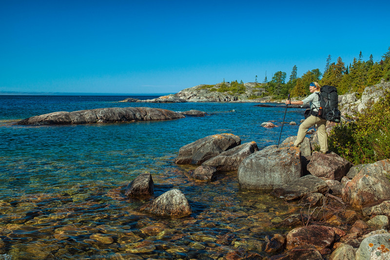 Hiking the Pukaskwa National Park