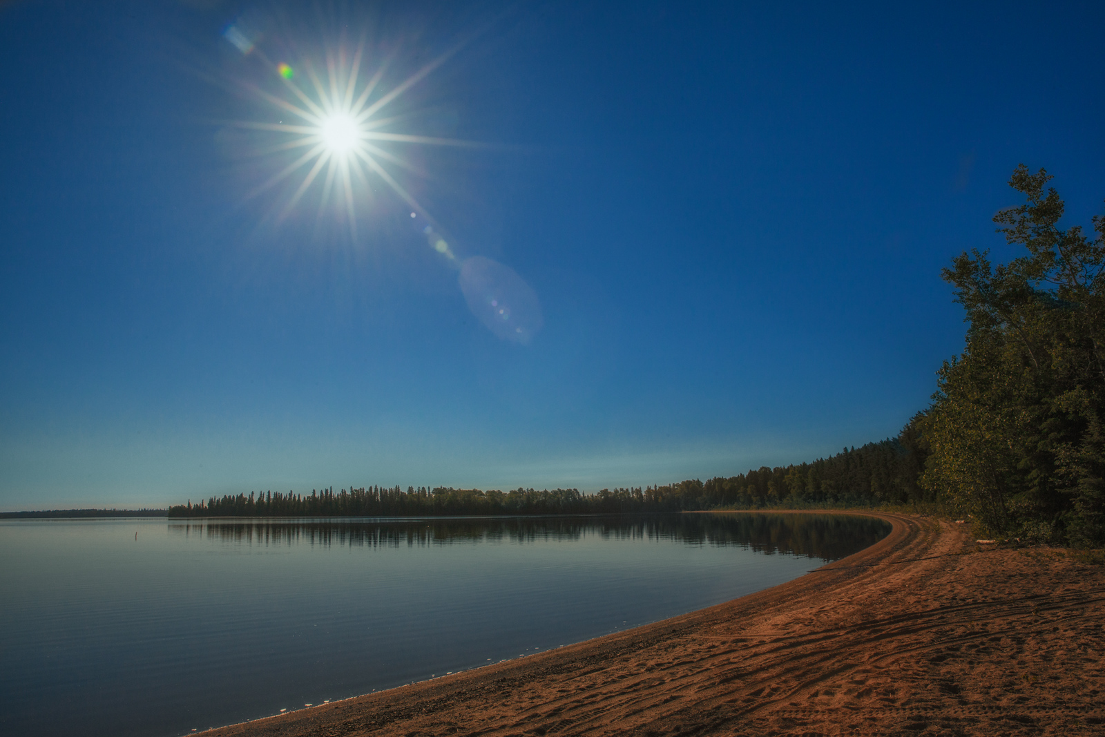 A Perfect day to get on the water in Northern Ontario.