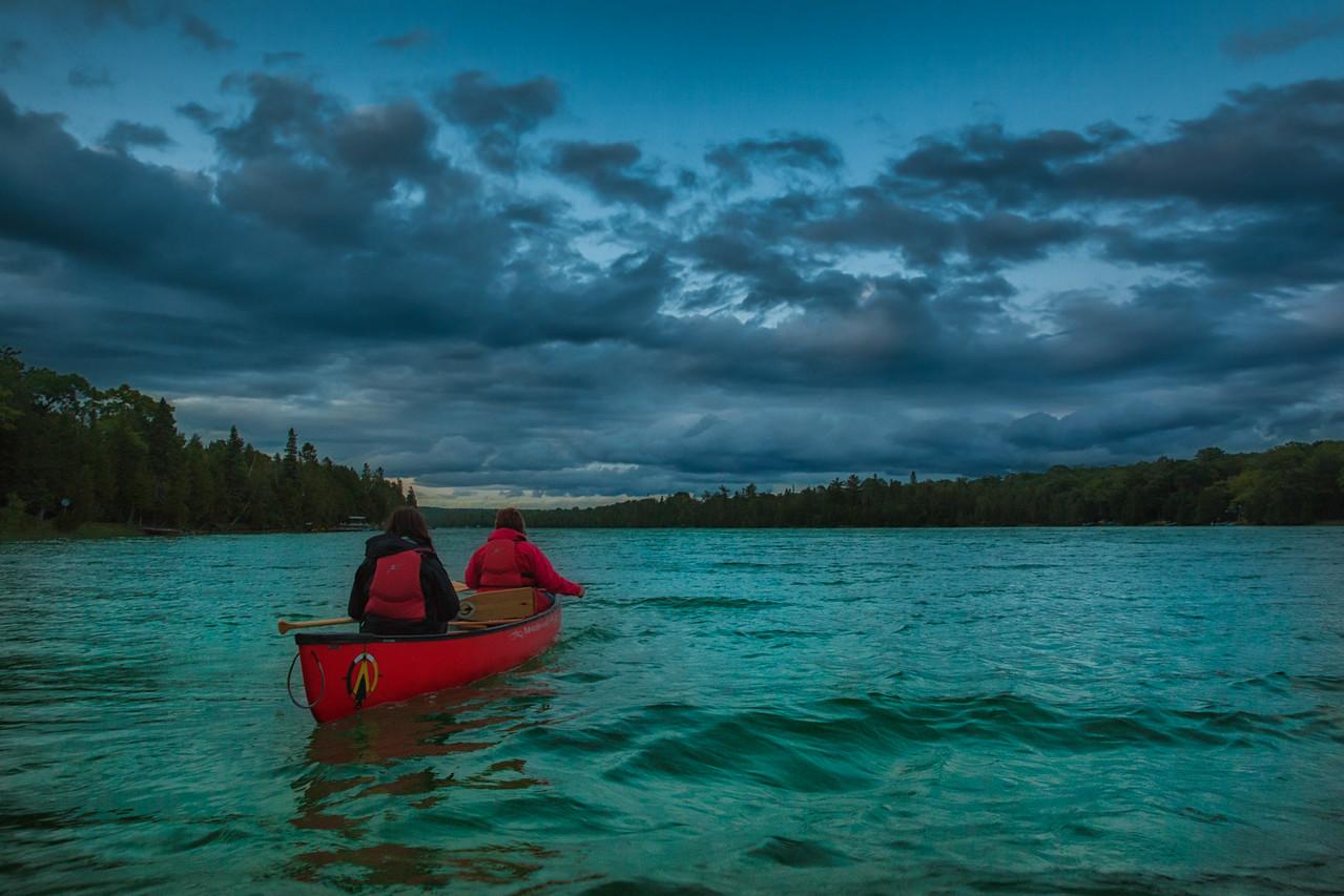A Sunset Paddle on Otter Lake