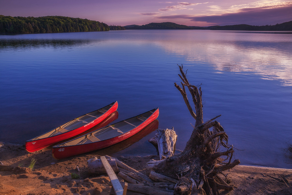 canoes canada