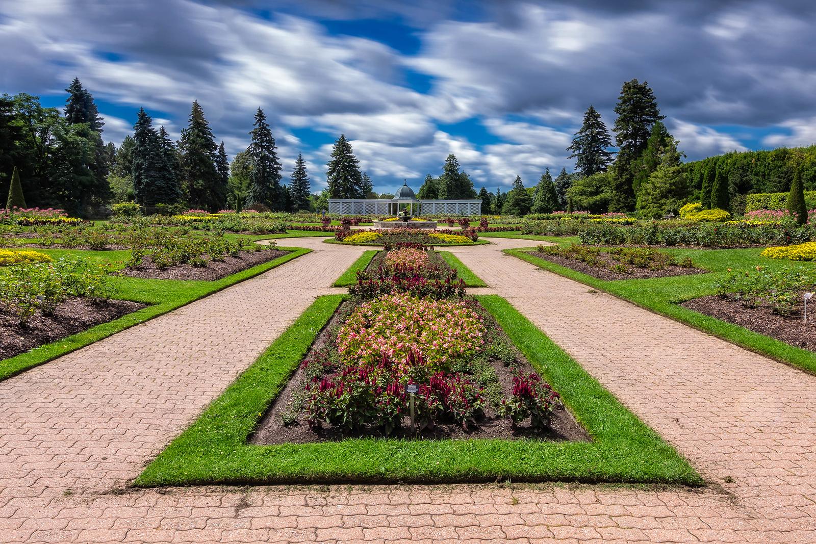 Botanical Gardens in Niagara Falls, Canada