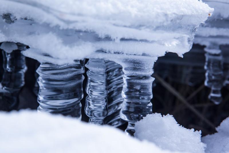Missinaibi River Ice Close up