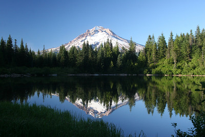 Mt. Hood in Mirror Lake