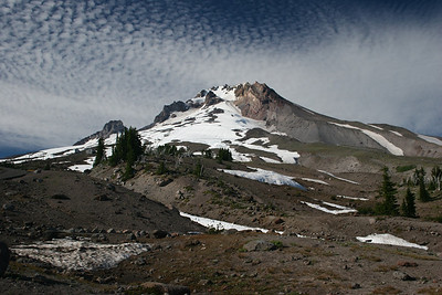 View of Mt. Hood from the Timberline Lodge