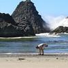 Oregon beachcombing