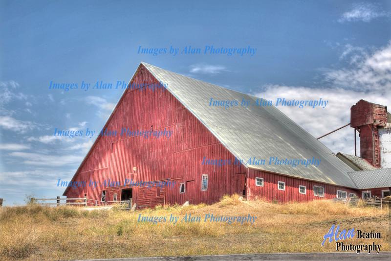 1878 Red Gable Draper Barn
