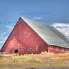 1878 Red Gable Draper Barn