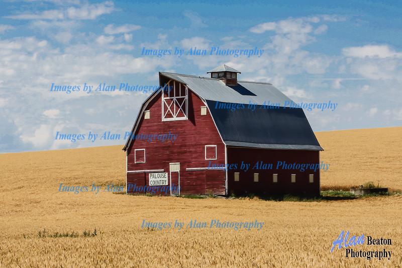 Red Barn near Uniontown