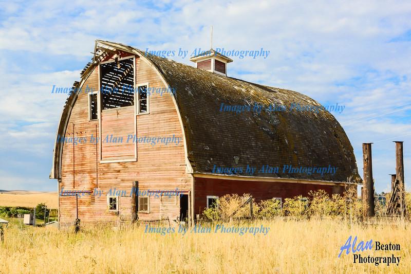 Kramlich Gothic Barn, Colfax