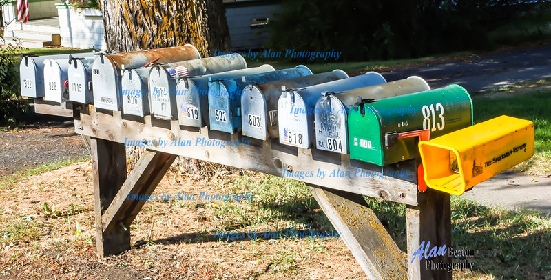 Mail boxes, Rosalia