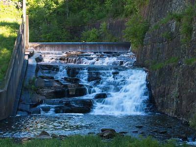 The waterfall dam