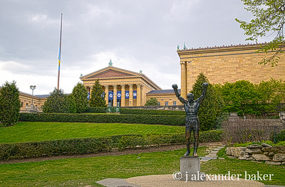 Rocky Statue, Philadelphia Museum of Art
