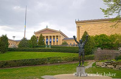 Rocky Statue, Philadelphia Museum of Art