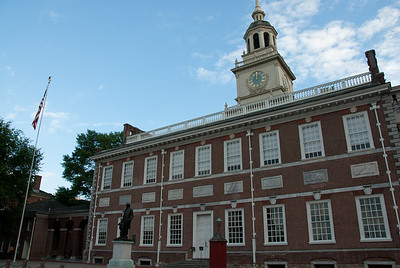 The Independence Hall in Philadelphia, Pennsylvannia