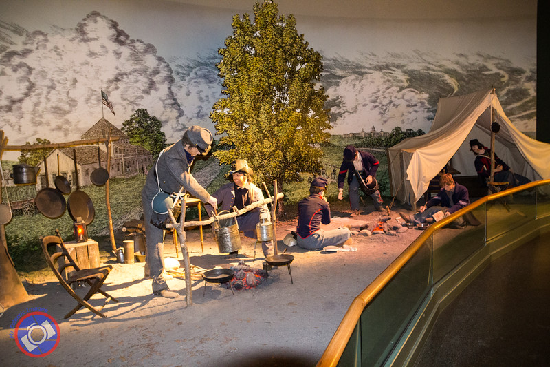 An Example of a Soldiers Encampment During the Civil War at the National Civil War Museum in Harrisburg  (©simon@myeclecticimages.com)