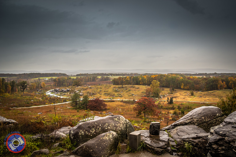 A View from the Union-Held High Ground that General Pickett Tried to Capture in One of the Bloodiest Battles of the Civil War (©simon@myeclecticimages.com)