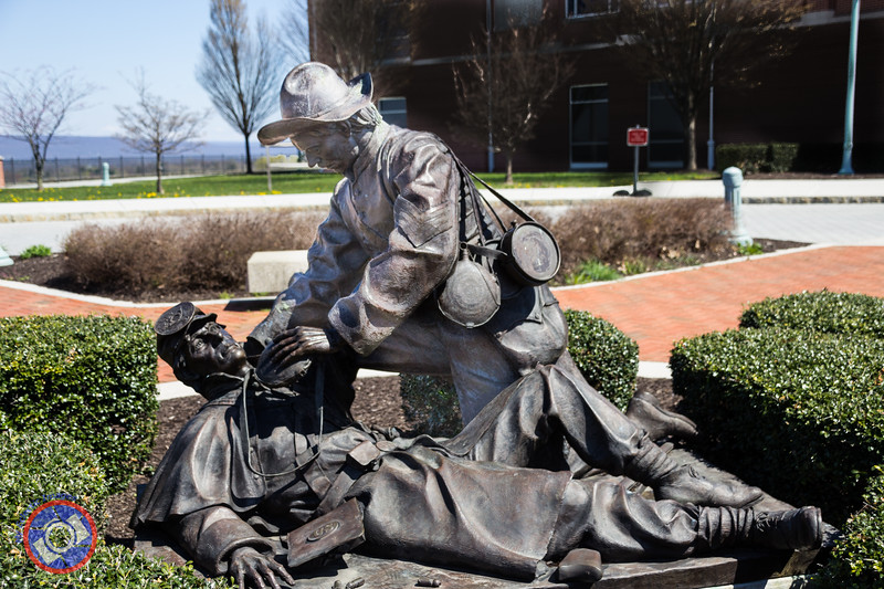 Bronze Statue in the Courtyard of the National Civil War Museum (©simon@myeclecticimages.com)