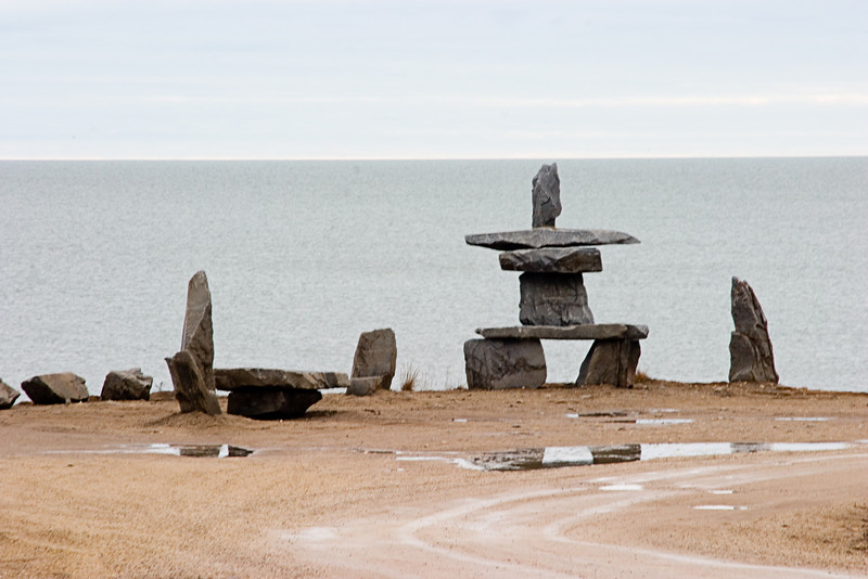 <center>Native Structures  <br><br>Churchill, Manitoba, Canada</center>