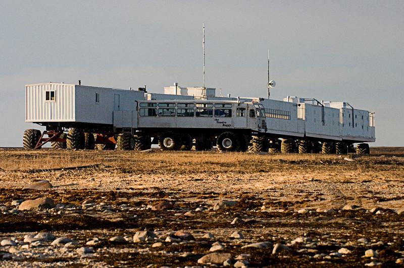 <center>Tundra Buggy Lodge  <br><br>Churchill, Manitoba, Canada</center>