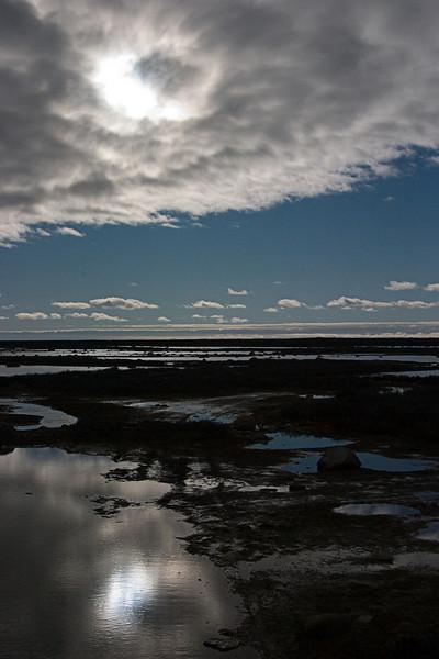 <center>Nice Reflections  <br><br>Churchill, Manitoba, Canada</center>