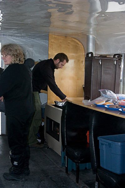 <center>Preparing Lunch  <br><br>Churchill, Manitoba, Canada</center>