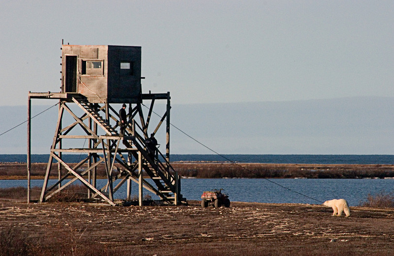 <center>Old Military Tower  <br><br>Churchill, Manitoba, Canada</center>