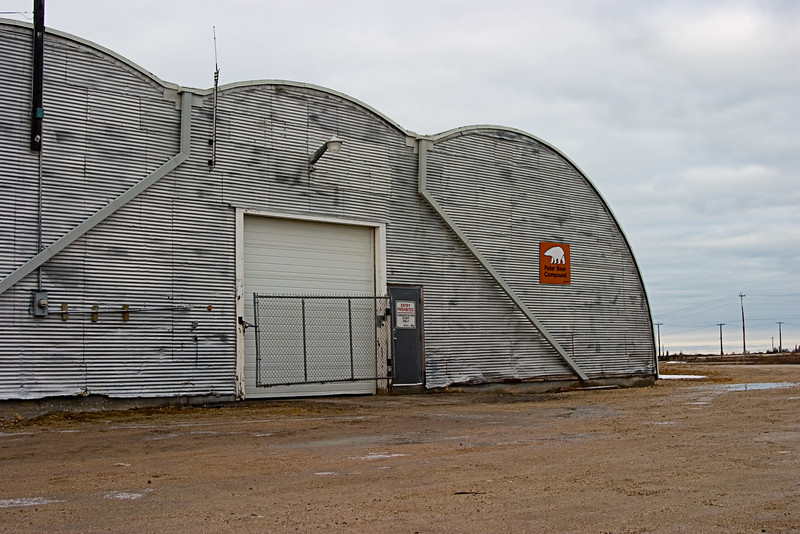 <center>Polar Bear Jail  <br><br>Churchill, Manitoba, Canada</center>