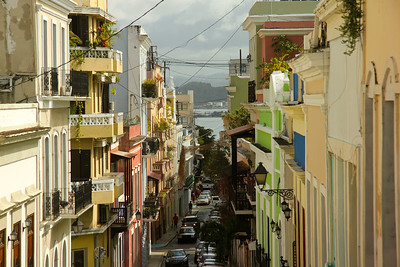 Strolling through the streets of Old San Juan