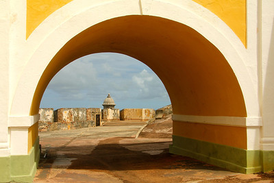 Beautiful views around every corner Castillo San Felipe del Morro