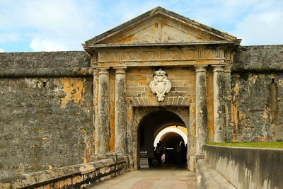 Entrance to Castillo San Felipe del Morro